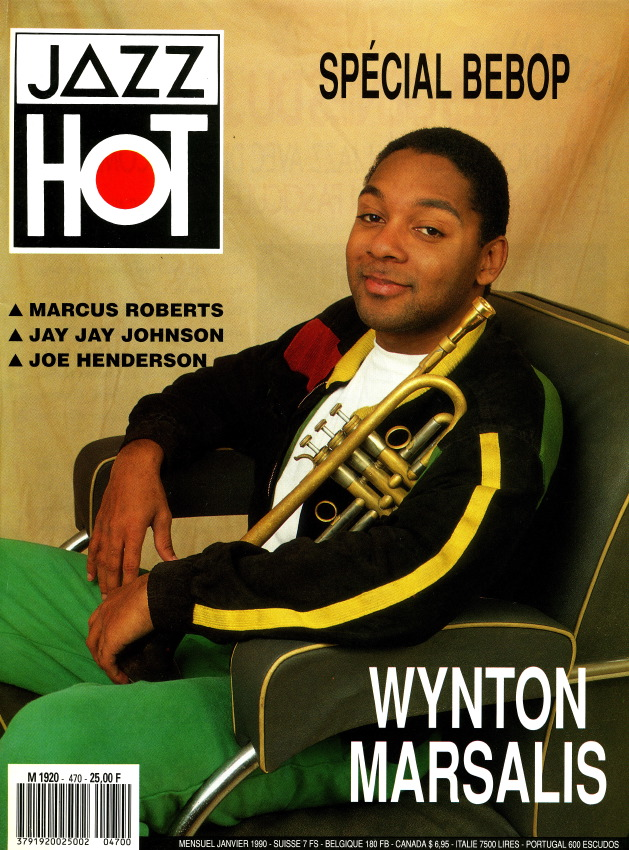 Jazz Hot n°470, Wynton Marsalis