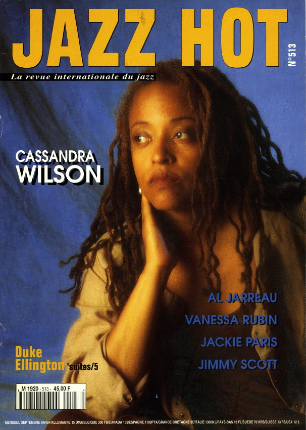 Jazz Hot n°513, Cassandra Wilson